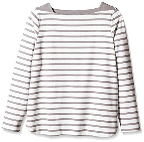 ESPRIT Collection Regular Fit - Camiseta de manga larga Niñas Mehrfarbig (LIGHT TAUPE 260)