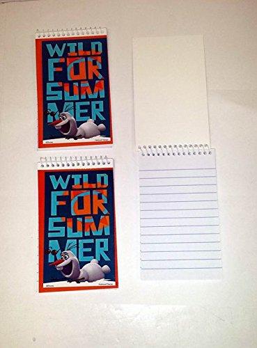 Lot of 24 Pieces - Disney's Frozen Olaf Mini Spiral - Notebooks Mini Frozen