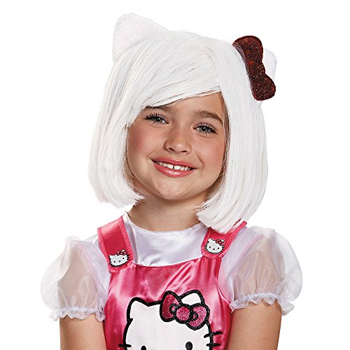 [Disguise 88688CH Hello Kitty Child Wig Costume Child] (Hello Kitty Child Costumes)
