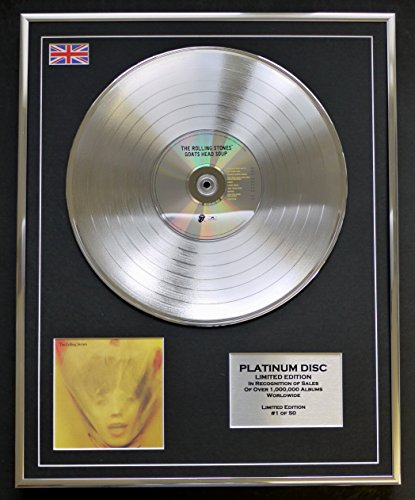 EC The Rolling Stones/LTD Edition CD Platinum DISC/Goats Head Soup