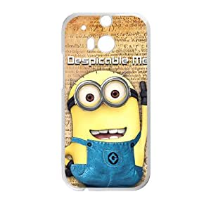DAZHAHUI Lovely Minions Cell Phone Case for HTC One M8 wangjiang maoyi