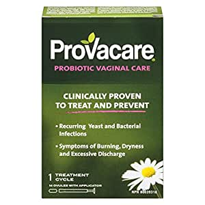 Provacare Probiotic Vaginal Care, 14-Count
