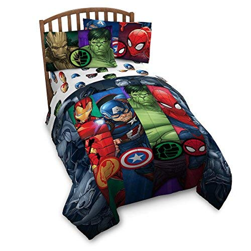 Franco Avengers Infinity War Twin Comforter and Sheet Set