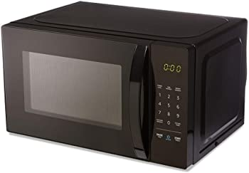 AmazonBasics 0.7 Cu. Ft Voice-Controlled Microwave