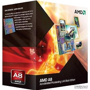 AMD A8-3870K APU with AMD Radeon 6550 HD Graphics 3.0GHz Unlocked Socket FM1 100W Quad-Core Processor - Retail - AD3870WNGXBOX