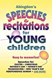 Abingdon's Speeches &  Recitations for Young Children