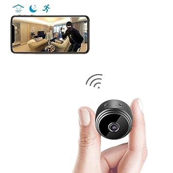 KENNOVA WiFi Cámara Espía HD 1080P Cámara Oculta Inalámbrica con Movimiento Activado/Visión Nocturna con Tarjeta SD: Amazon.es: Electrónica