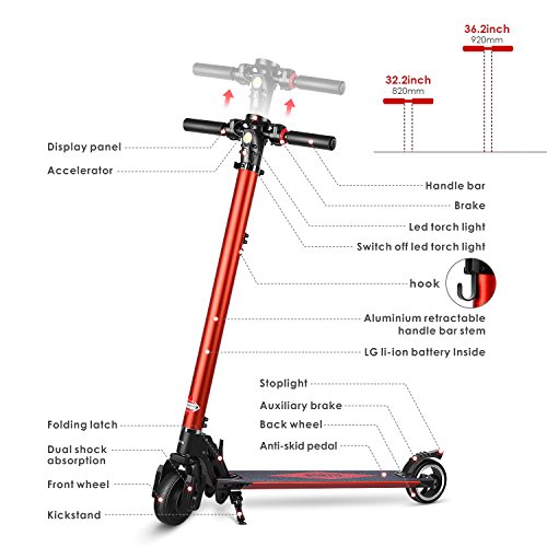 Partu Foldable Electric Scooter