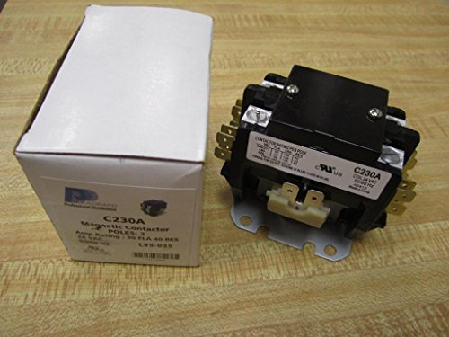 packard c230a 2 pole coil contactor, 30 amp 24v motor contactors Packard C230b Wiring Diagram packard c230a 2 pole coil contactor, 30 amp 24v motor contactors amazon com industrial & scientific packard c230b wiring diagram
