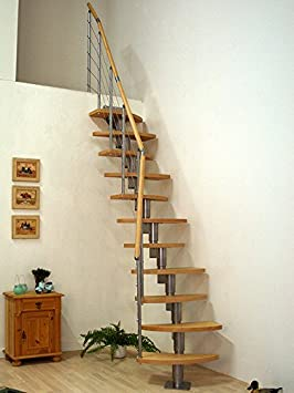 Ahorro de espacio Dolle Roma - Kit - escalera Modular escalera para desván conversiones: Amazon.es: Bricolaje y herramientas