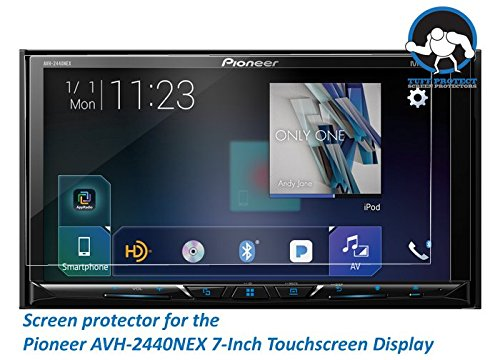 Tuff Protect Clear Screen Protectors for Pioneer AVH-2440NEX