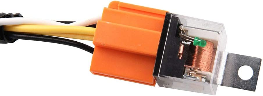 Actual Horn Not Included 12V Horn Wiring Harness Relay Kit For Car Truck Grille Mount Blast Tone Horns