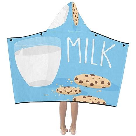 Vidrio Leche dulce y galleta Galleta Suave algodón cálido Mezclado Los niños se visten con capucha