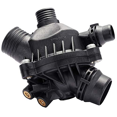 - ECCPP 11537549476 11537544788 Engine Coolant Thermostat and Housing Assembly Radiator CoolantThermostat Housing Equipment fit for BMW 525i 525i 530xi 330i 330xi Z4 335xi 335i X3 328i 535xi 335i X3