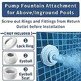 Klleyna Water-Fountain Swimming-Pool Sprinkle