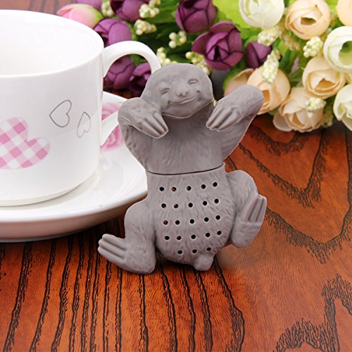 Bundless Brand-Tea Infuser Animal- 1Pc Teapot Cute Silicone