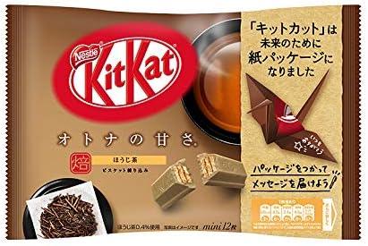 キットカット ミニ オトナの甘さ ほうじ茶 ×12袋セット