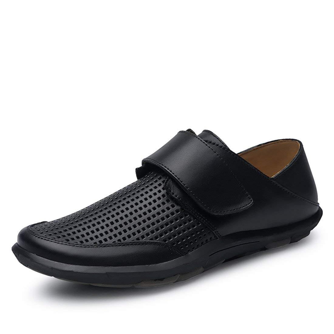 Herren Mesh atmungsaktiv atmungsaktiv atmungsaktiv schwarz Walknig Schuhe mit Klettverschluss UK 7 (Farbe   -, Größe   -) 9f5f72