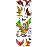 SNOW@New Temporary Tattoos Eagles Pattern Design Vivid