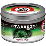 Pirates Caves 100g grams Starbuzz Tin Can Free S and L Male and Female Hookah Tips Sold By S and L Star Buzz