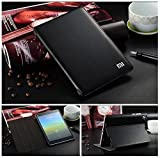For XiaoMi Mi Pad (1st Gen) Tablet 7.9 inch Flip Case Cover, [Wake/Sleep Function] PU Leather Stand Flip Carry Case Cover For Xiaomi Mi Pad 7.9' Inch Smart Flip Cover Case (Black)