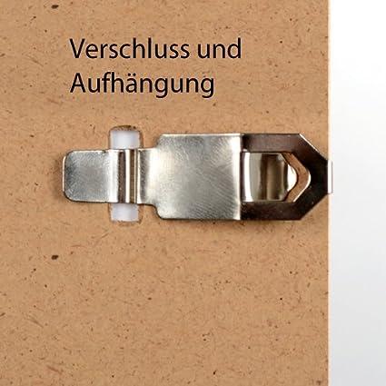 Mein Landhaus Cadre Rahmenlos Randlos-Rahmen sans Cadre Cadre 10x15 cm Cadre Verre Normal Documents