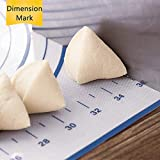 Large Silicone Pastry Mat Extra Thick Non Stick