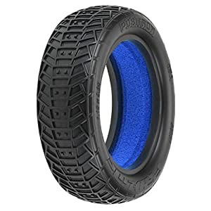 1/10 Front Positron 2.2 2WD MC Tires with Closed Cell Foam inserts: Off-Road Buggy (2)
