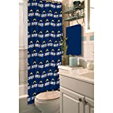 NFL San Diego Chargers Decorative Shower Curtain