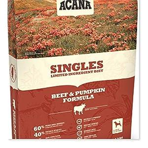 ACANA Beef & Pumpkin Dry Dog Food 25 Lb. Bag. (with Fresh Angus Beef and Pumpkin) Grain Free Dog Food 71