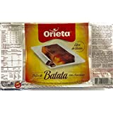 Orieta Dulce de Batata con Chocolate . Sweet Potato Jam with Chocolate 425g (14.99 Ounce