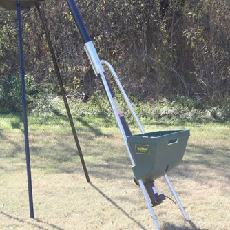 BadAss Auger Tripod Game Feeder Filler by Capsule Feeders