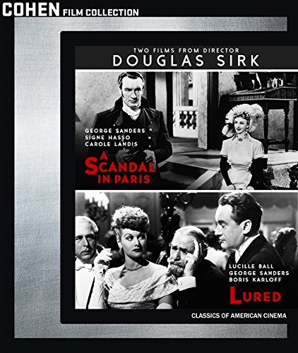 TWO FILMS BY DOUGLAS SIRK DOUBLE FEATURE [Blu-ray] ()
