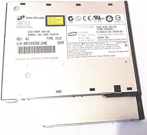 GDR8082N H-L DATA STORAGE GDR-8082N 8X IDE SLIM DVD-ROM DRIVE.