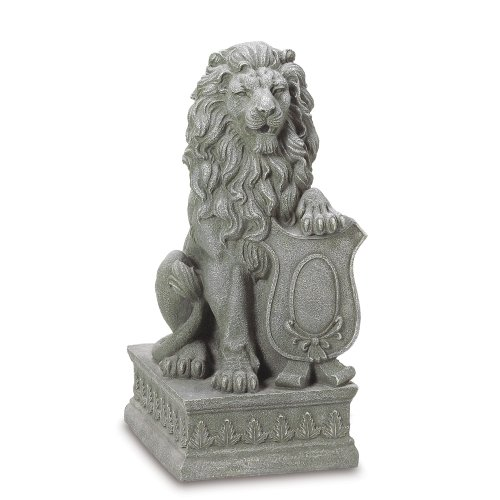 outdoor lion statues - 3