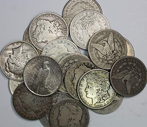 (1878-1935 Morgan or Peace Silver Dollar Culls (Mixed Dates and Mint Marks) $1 Cull)