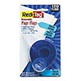 Redi-Tag : Arrow Message Page Flags in Dispenser, ''Sign Here'', Blue, 120 Flags/Dispenser -:- Sold as 2 Packs of - 120 - / - Total of 240 Each