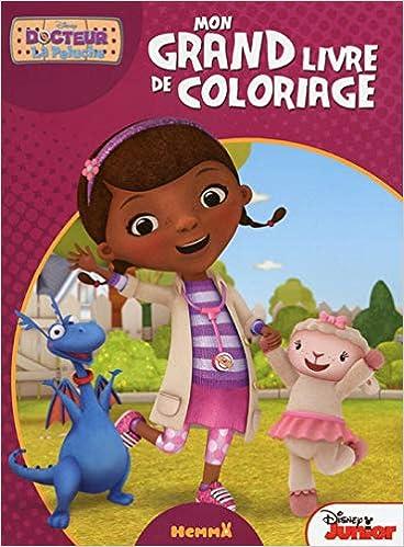 Docteur La Peluche Mon Grand Livre De Coloriage French Edition Collectif 9782508028830 Amazon Com Books