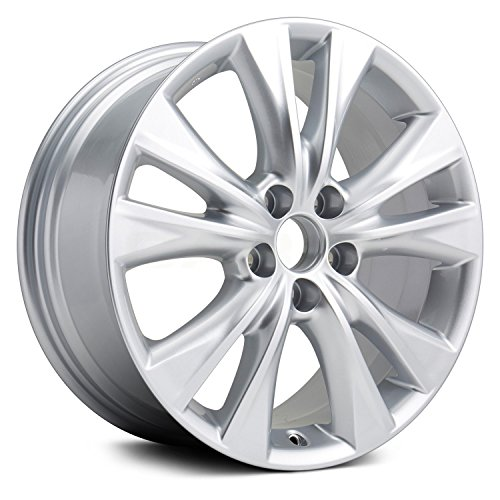 Painted Silver Alloy Wheel - 2