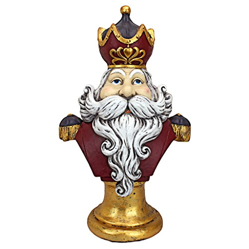 Christmas Decorations - Santa Claus, King of the North Pole 2 Foot Tall Holiday Decor Statue ()