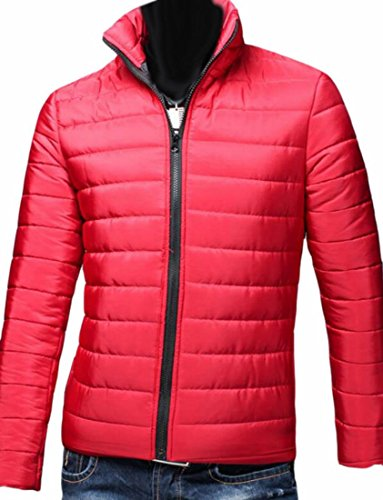 Jacket Lightweight Puffer Winter Brd UK Down Hot Coat Red Waterproof Men Zipper Down U1CFfw