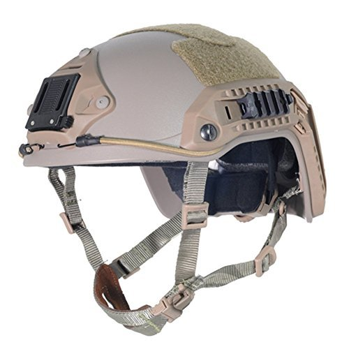 Lancer Tactical CA-806T Maritime ABS Helmet Color: Dark Earth, Size: Large to X-Large by Lancer Tactical
