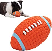 Dog Toy Ball Sound Hollow Soft Rubber Caseeto Squeaky Dog Ball Treat Teething Bouncing Small Medium Large Dogs
