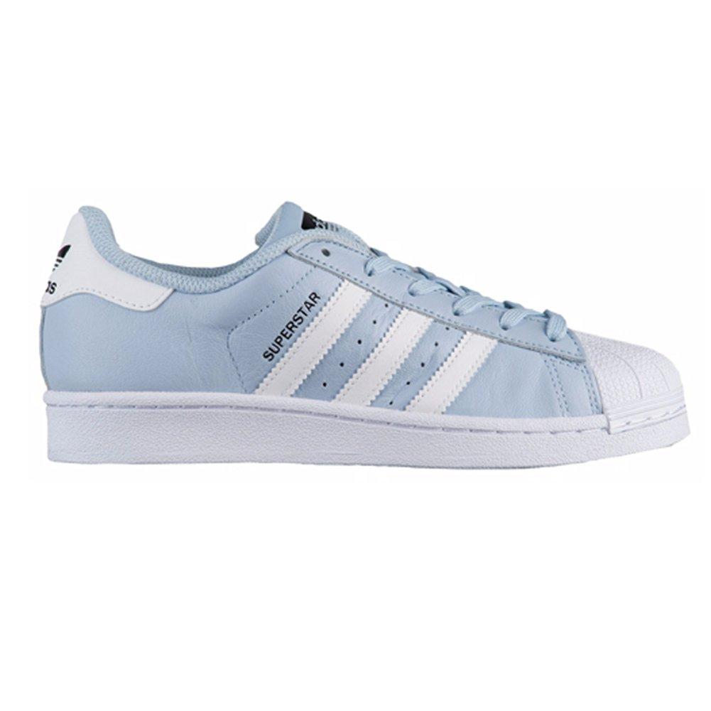 finest selection 0db5f 61c87 Galleon - Adidas Originals Superstar J Running Shoe  EASBLU,FTWWHT,CBLACK-CG2944 6- Medium US