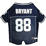 NFL NFLPA Dog Jersey – DEZ Bryant #88 Pet Jersey Dallas Cowboys Mesh Jersey, X-Small