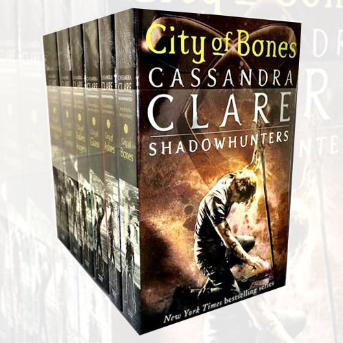 Cassandra Clare The Mortal Instruments Book 1-6 Collection 6 Books Set (City of Bones, City of Ashes, City Glass, City of Lost Soul, City of Fallen Angels, City of Heavenly Fire) -