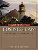 Bundle: Anderson's Business Law and the Legal Environment, Comprehensive Volume, 21st + Study Guide : Anderson's Business Law and the Legal Environment, Comprehensive Volume, 21st + Study Guide, Twomey and Twomey, David P., 1111081999