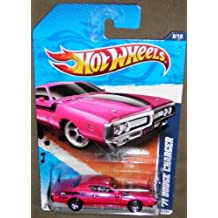 Hot Wheels 2011 Muscle Mania '71 Dodge Charger 108/244, Pink