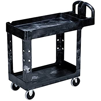 Rubbermaid Commercial 4500-88-BLA Utility Carts, 500 lb, 39 1/4