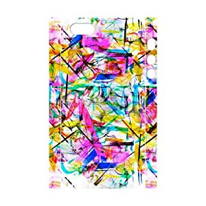 3D [Street Graffiti Series] iPhone 5,5S Case watercolor, Iphone 5 Case Cathyathome - White